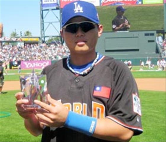 胡金龍獲選 2007 未來之星 MVP